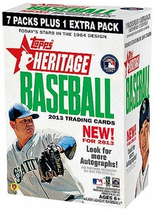 Topps MLB Baseball 2013 Heritage Blaster Box [8 Packs]