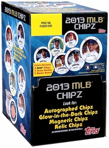 Topps MLB Baseball 2013 Chipz Hobby Booster BOX [36 Packs]