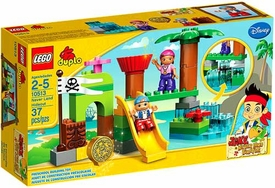LEGO DUPLO Jake & Never Land Pirates Set #10513 Never Land Hideout
