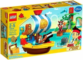 LEGO DUPLO Jake & Never Land Pirates Set #10514 Jake's Pirate Ship Bucky