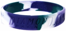 Official MLB Team Rubber Bracelet Arizona Diamond Backs [Marble]