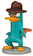 Disney Phineas and Ferb Exclusive 2 Inch PVC LOOSE Figure Agent P