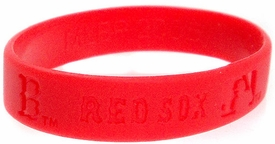 Official MLB Team Rubber Bracelet Boston Red Sox [Red