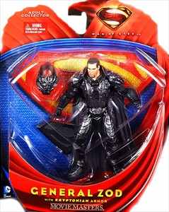 Man of Steel Movie Masters Action Figure General Zod with Kryptonian Armor