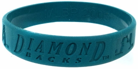 Official MLB Team Rubber Bracelet Arizona Diamond Backs [Blue]