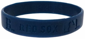 Official MLB Team Rubber Bracelet Boston Red Sox [Blue]