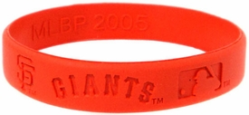 Official MLB Team Rubber Bracelet San Francisco Giants [Orange]