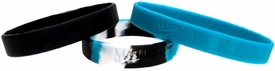 Forever Collectibles Official MLB Team Rubber Bracelet Florida Marlins [3 Pack]