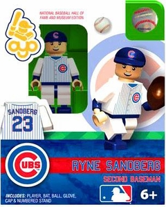 OYO Baseball MLB Building Brick Minifigure Ryne Sandberg [Chicago Cubs]