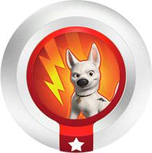 Disney Infinity Series 1 Power Disc Bolt's Super Strength [1 of 20]