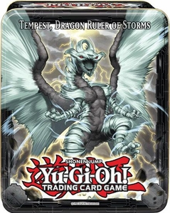 YuGiOh 2013 Wave 2 Collector Tin Set Tempest, Dragon Ruler of Storms