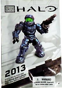 Halo Mega Bloks Exclusive 2013 Pack Set #99693 Steel Mark VI Spartan