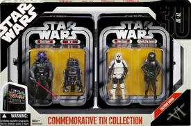 Star Wars 30th Anniversary Saga 2007 Exclusive Collectible Tin Episode VI [Darth Vader, R5-J2, Biker Scout, Death Star Gunner]