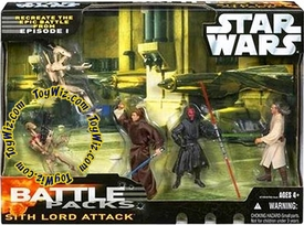 Star Wars Saga '06 Action Figure Exclusive Battle Pack Sith Lord Attack