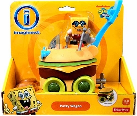 SpongeBob Squarepants Imaginext Krabby Patty Wagon