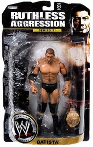 WWE Wrestling Ruthless Aggression Series 31 LIMITED EDITION Action Figure Batista Only 500 Made!