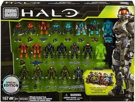 Halo Mega Bloks Exclusive Set #97233 Ultimate Combat Pack [20 Figures!]