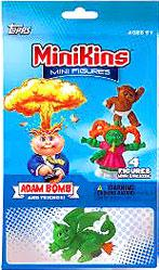 Topps Garbage Pail Kids Series 1 MiniKins Mini Figures Jumbo Pack [1 Visable & 3 Mystery Figures]