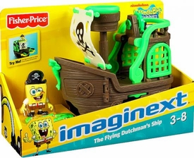 SpongeBob Squarepants Imaginext Exclusive Flying Dutchman's Ship