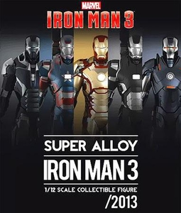 Iron Man 3 Play Imaginative Super Alloy 1/12 Scale Collectible Figure Iron Man Mark 40 Shotgun (Coming Soon)