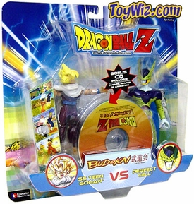 Dragonball GT Budokai Battles Action Figure 2-Pack Teen Gohan vs. Perfect Cell Hard to Find!
