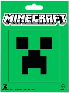 Minecraft 3 Inch Sticker Creeper Face