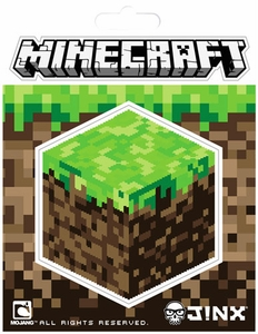 Minecraft 3 Inch Sticker Dirt Block