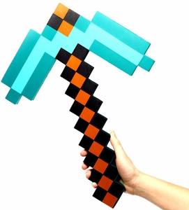 Minecraft Exclusive Foam Diamond Pickaxe