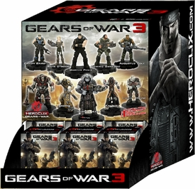 Gears of War Heroclix Display Box [24 Booster Packs]