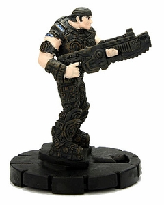 Gears of War Heroclix Single Figure #001 Marcus Fenix