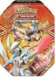Pokemon Best of Black & White Reissue Legendary EX Tin White Kyurem