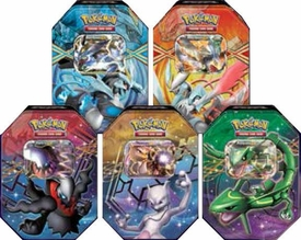 Pokemon Best of Black & White Reissue Set of 5 Legendary EX Tins [Black Kyurem, White Kyurem, Mewtwo, Rayquaza & Darkrai]