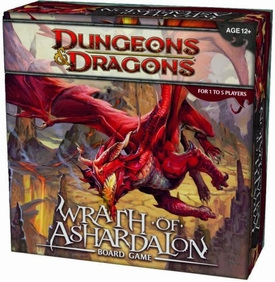 Dungeons & Dragons D&D Wrath of Ashardalon Board Game