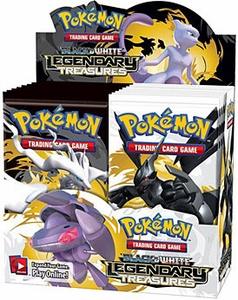 Pokemon Card Game Black & White Legendary Treasures Booster Box [36 Packs]