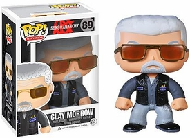 Funko POP! Sons of Anarchy Vinyl Figure Clay Morrow  New!