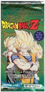 Dragon Ball Z Artbox Series 4 Trading Card Pack