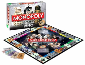 Monopoly Board Game Set Doctor Who 50th Anniversary Collector's Edition
