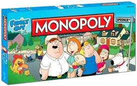 Monopoly Board Game Set Family Guy Collector's Edition