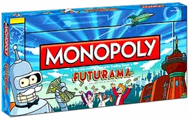 Monopoly Board Game Set Futurama Collector's Edition