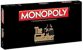 Monopoly Board Game Set The Godfather Collector's Edition