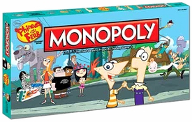 Monopoly Board Game Set Phineas & Ferb Collector's Edition