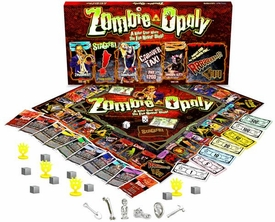 Monopoly Board Game Set Zombie-Opoly