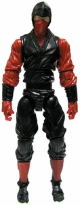 GI Joe 3 3/4 Inch LOOSE Action Figure Red Ninja [Version 5]