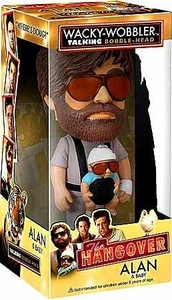 Funko The Hangover Wacky Wobbler Bobble Head Talking Alan with Baby