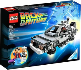 LEGO Cuusoo Back to the Future Set #21103 DeLorean Time Machine