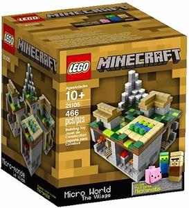 LEGO Minecraft Set #21105 Micro World: The Village
