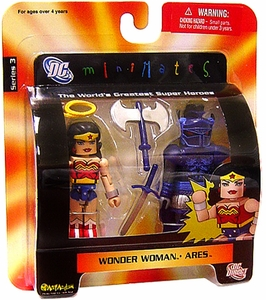 DC Universe Minimates Series 3 Mini Figure 2-Pack Wonder Woman & Ares