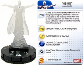 Chaos War HeroClix Marquee Figure & Card Vision