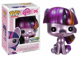 Funko POP! My Little Pony ToyWiz Exclusive Vinyl Figure Metallic Twilight Sparkle