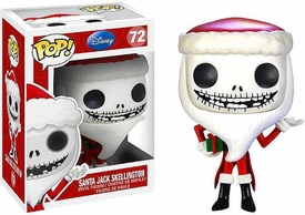 Funko POP! Nightmare Before Christmas Vinyl Figure Santa Jack Skellington Pre-Order ships November